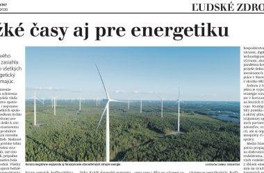 Ťažké časy aj pre energetiku