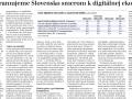Preprogramujeme Slovensko smerom k digitálnej ekonomike? v HN