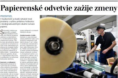 Papierenské odvetvie zažije zmeny